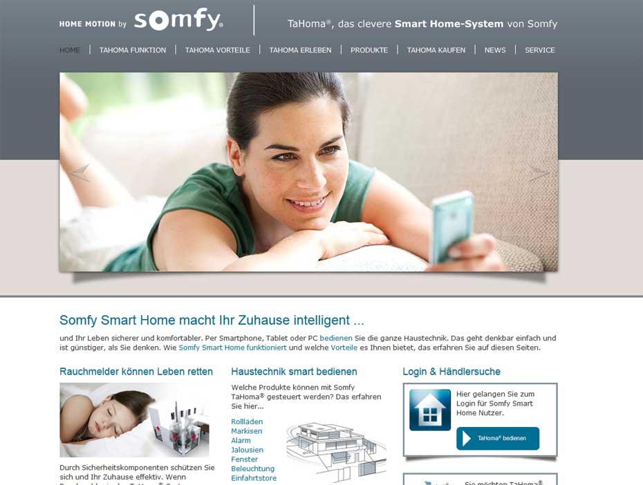 Somfy-Smarthome