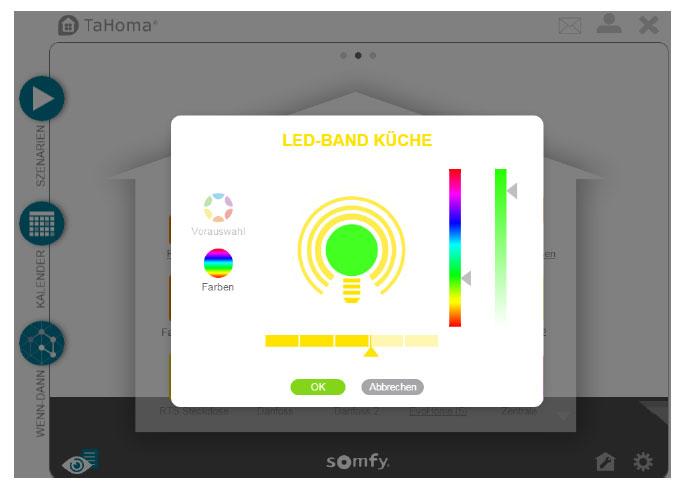 philips hue in somfy tahoma 2 0 einbinden rollladenblog. Black Bedroom Furniture Sets. Home Design Ideas